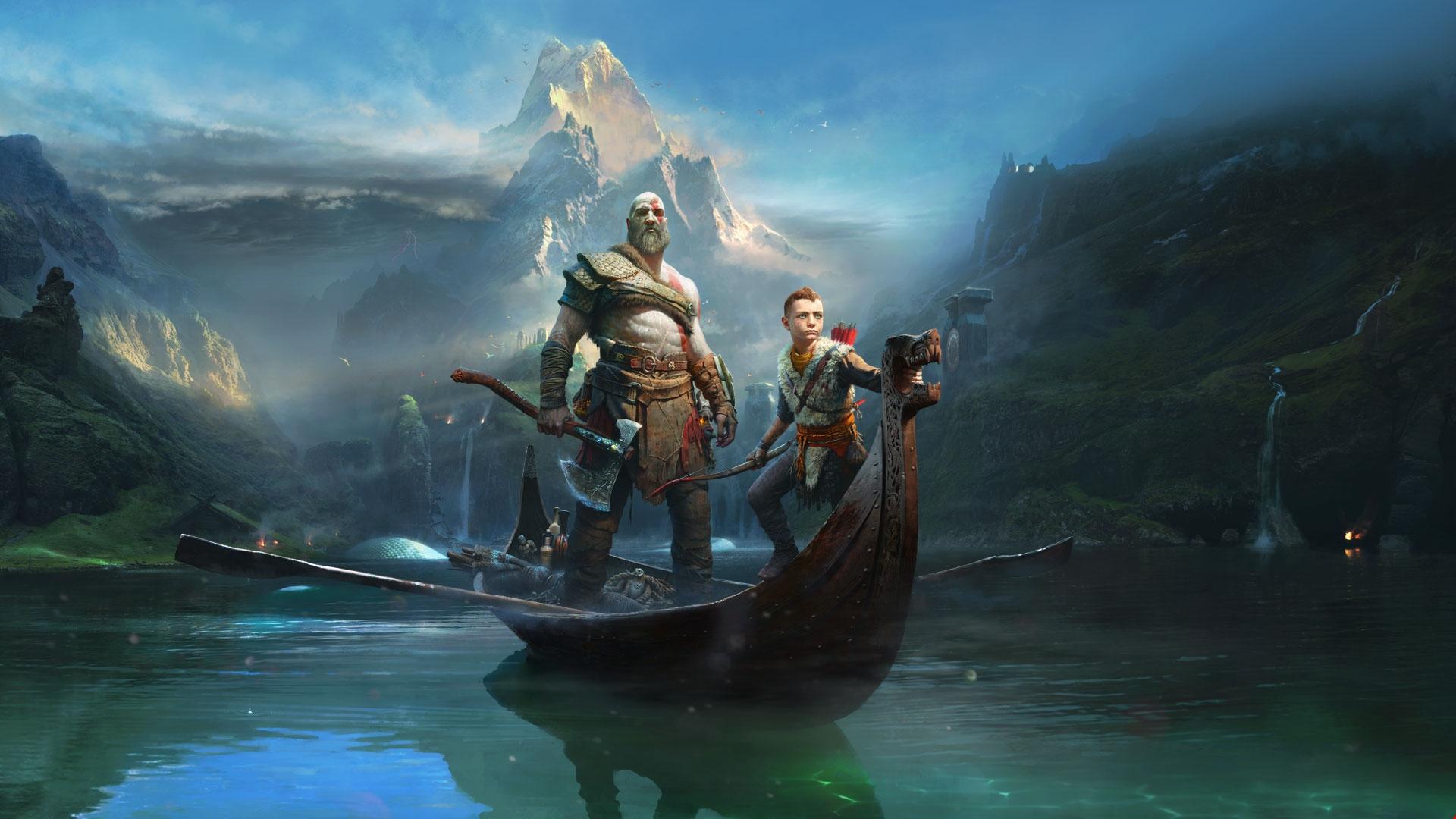 God Of War Kratos And Atreus Animated Wallpaper