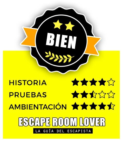 La Búsqueda - El Santo Grial - Escape Room - Opiniones