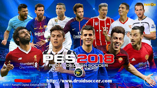PES Mobile 2018 Mod UCL v3.8 by Minimumpatch Apk + Obb