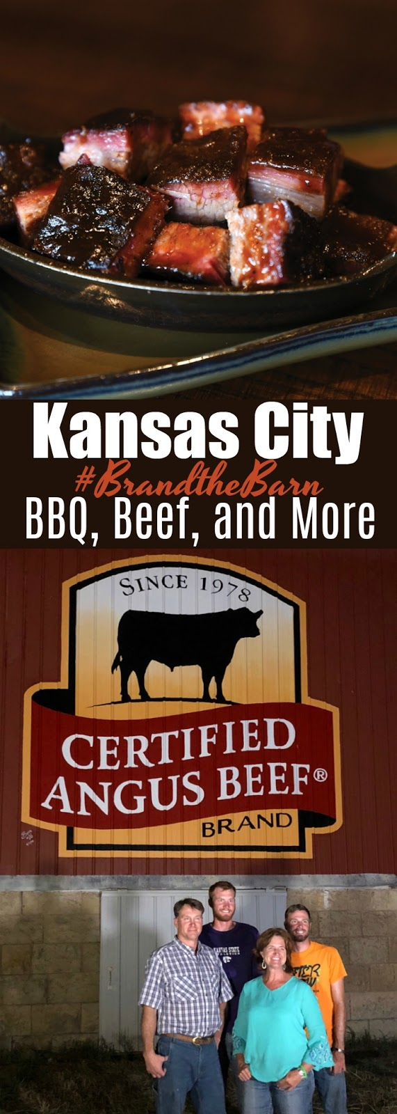 My trip to The Blythe Family Farm, and the Tiffany Cattle Co. in Kansas with Certified Angus Beef ® brand. #brandthebarn #bestangusbeef #certifiedangusbeef #kansascity #BBQ #beef #travel | www.bobbiskozykitchen.com