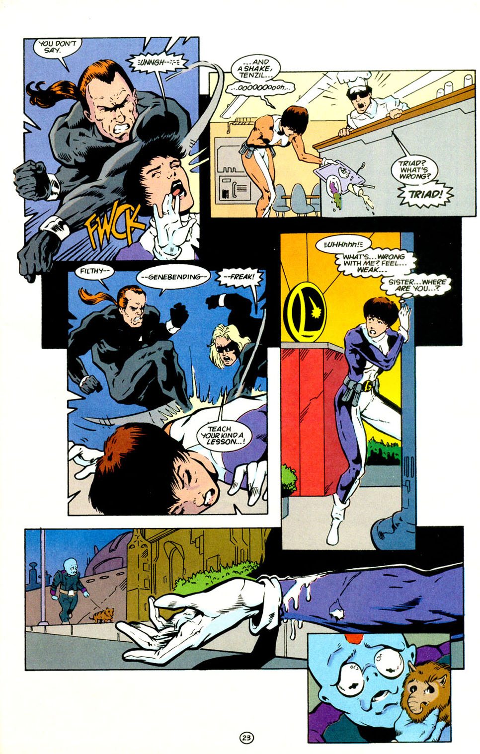 Legion of Super-Heroes (1989) 67 Page 23