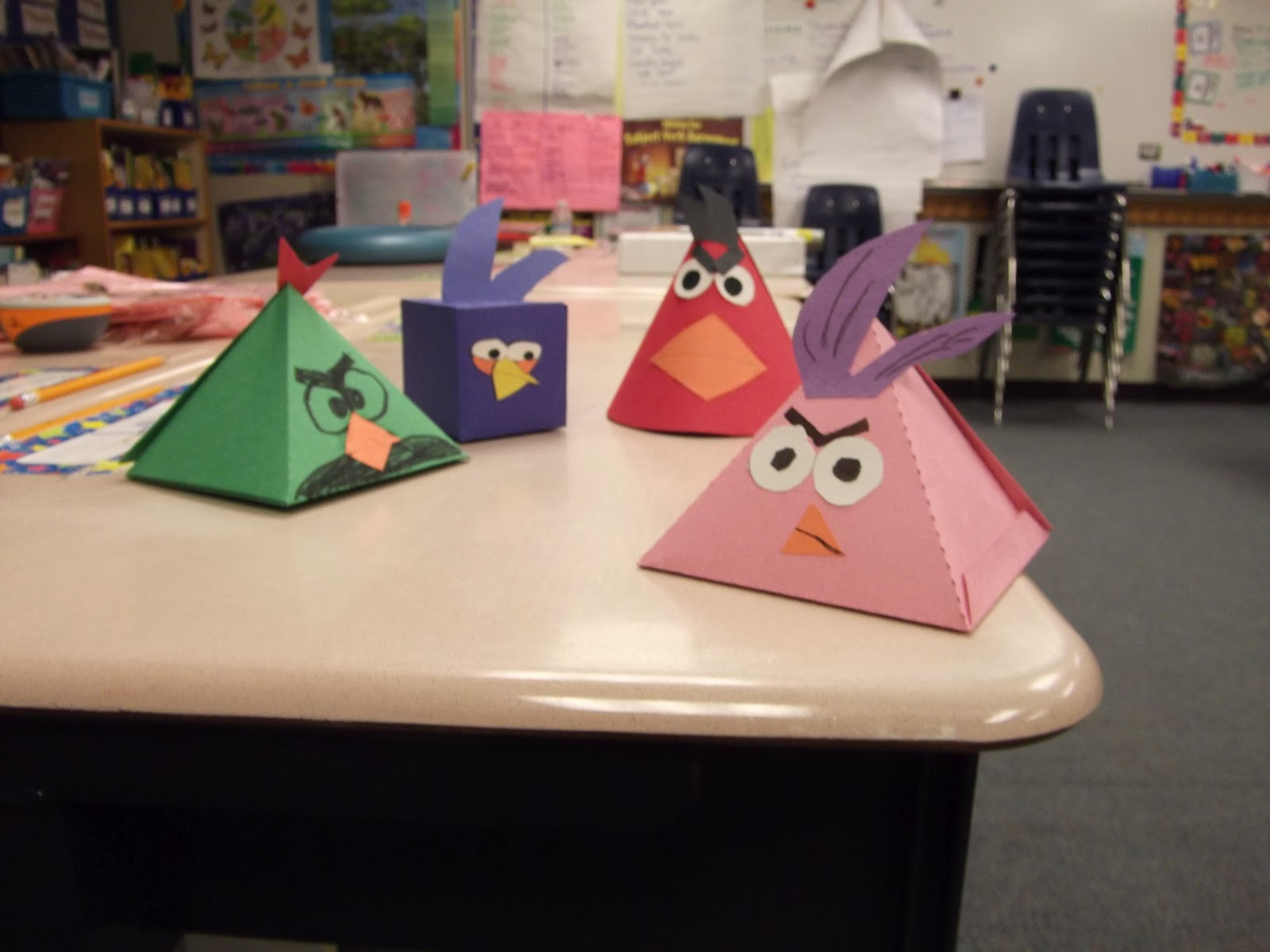 Tales Of A Fourth Grade Teacher Angry Birds Geometry Lesson