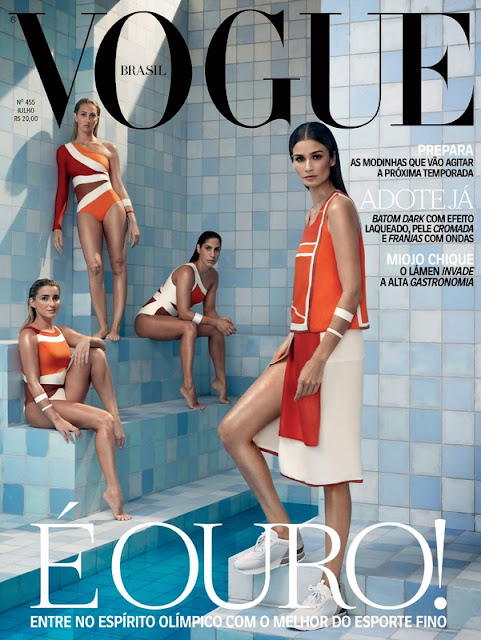 Fashion Model, @ Caroline Ribeiro by Henrique Gendre for Vogue Brazil, July 2016