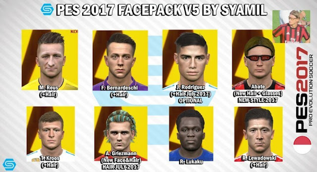 New Facepack PES 2017