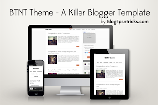 btnt responsive blogger template showcase