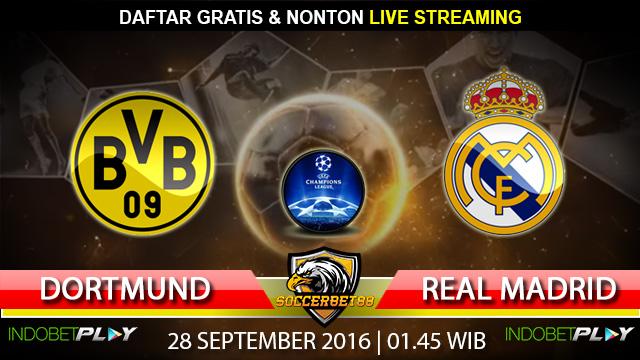 Prediksi Dortmund vs Real Madrid 28 September 2016 (Liga Champions)