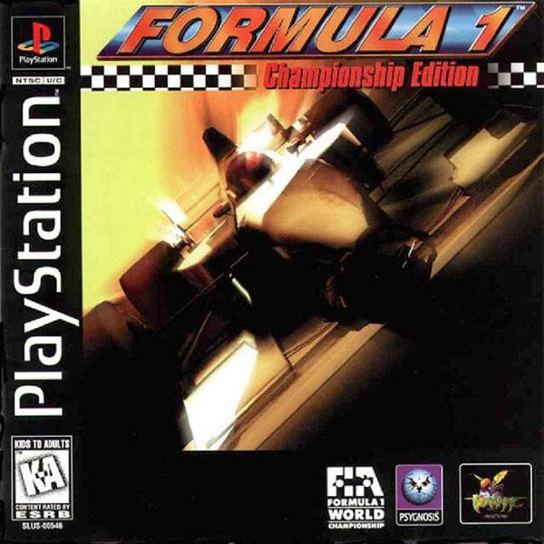 Formula 1 Championship Edition - PS1 - ISOs Download