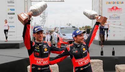 Νίκη της Hyundai στο Ράλι Σαρδηνίας