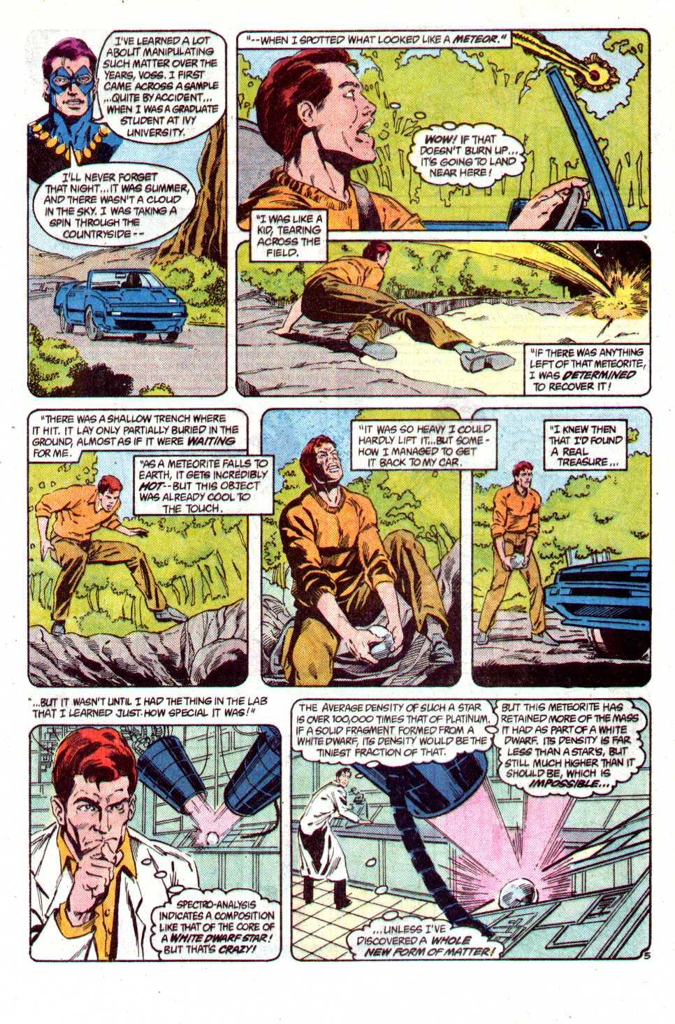 Read online Secret Origins (1986) comic -  Issue #29 - 7