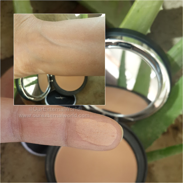 FACES Ultime Pro Second Skin Pressed Powder Beige - Review, Price, Swatches