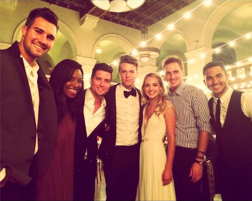 BTR|HD Philippines: Big Time Rush re-united at Katelyn Tarver's wedding with PLL star Lucy Hale