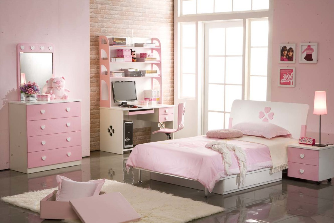 Sweet Bedroom Design Ideas For Pink Little Girl Rooms Home Design Ideas