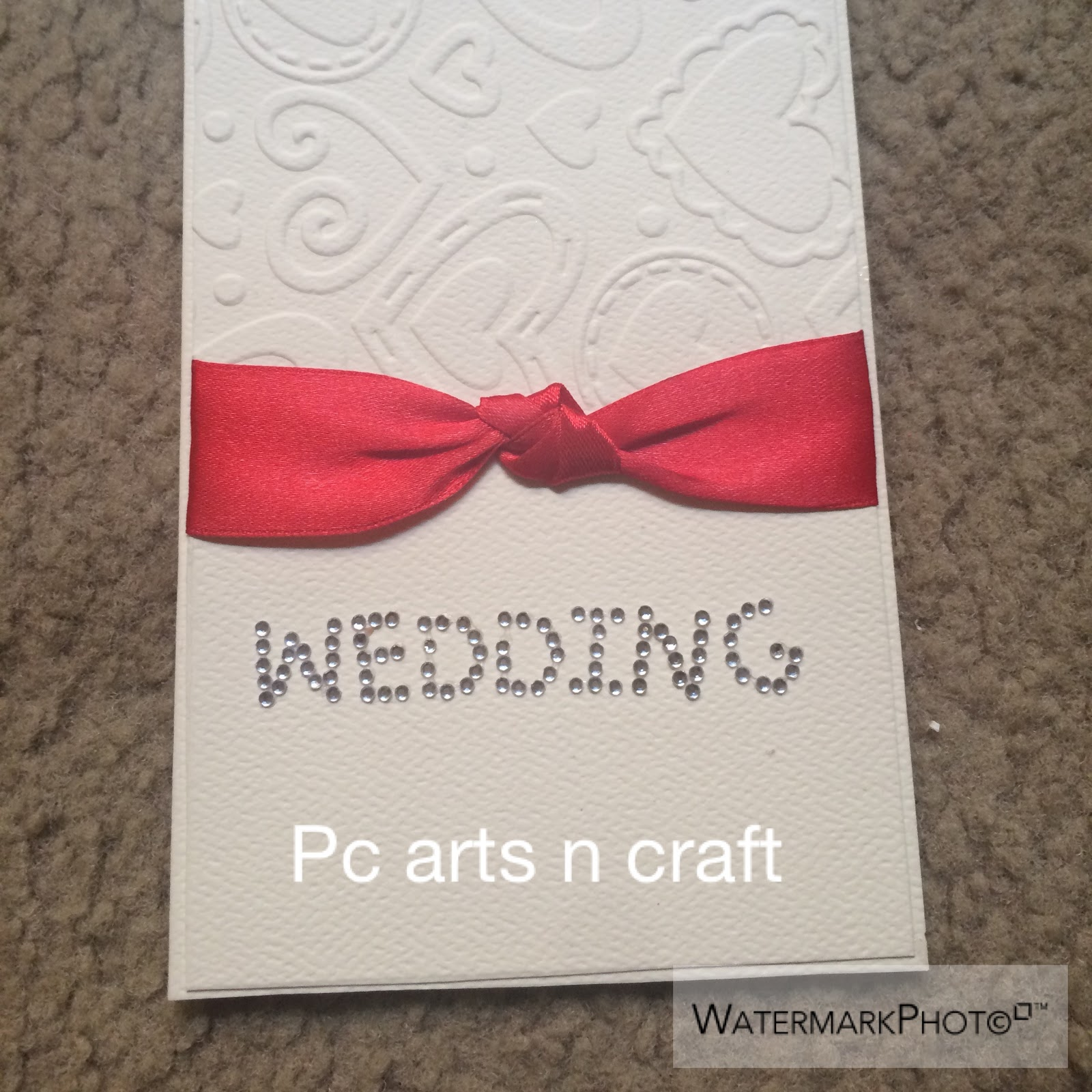 Handmade craft store: Collection of handmade wedding invitation