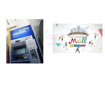 CARA BAYAR PESANAN DI MATAHARIMALL VIA ATM MANDIRI VIRTUAL ACCOUNT