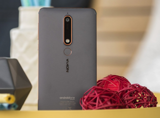 Nokia 6 (2018) Backview