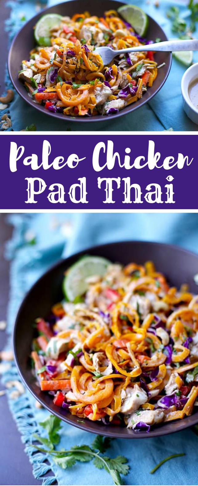PALEO CHICKEN PAD THAI #healthyrecipe #paleo