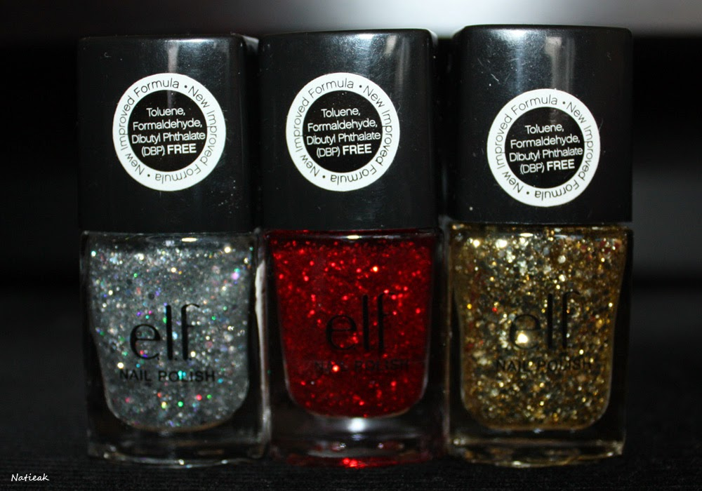 vernis à ongles  E.L.F Dream Maker (paillettes argentée) -  Love me