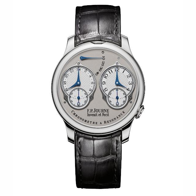 F.P.Journe - Chronometre A Resonance with Analog 24 Hour Display