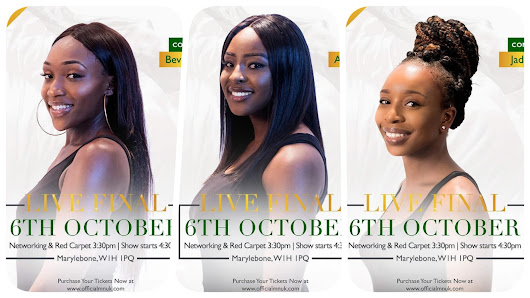 Sat/6/Oct: MISS NIGERIA UK 2018 - Meet Your Contestants