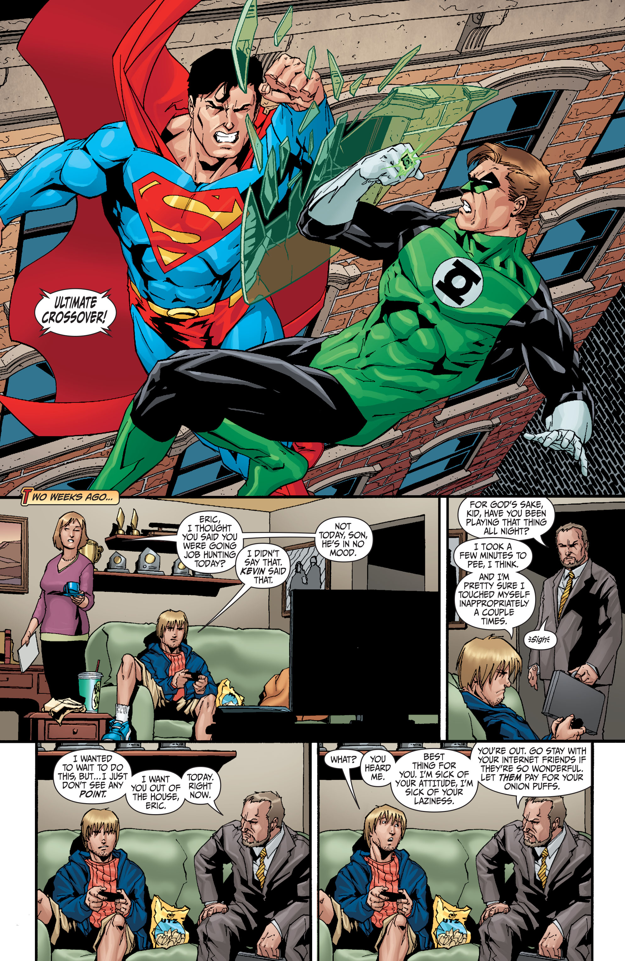 Read online Secret Six (2008) comic -  Issue #30 - 2