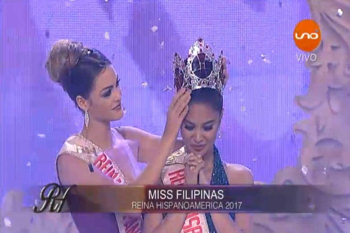 Winwyn Marquez crowned Reina Hispanoamericana 2017