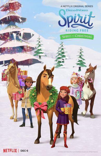 Xem Phim Chú Ngựa Spirit – Tự Do Rong Ruổi: Giáng Sinh Cùng Spirit