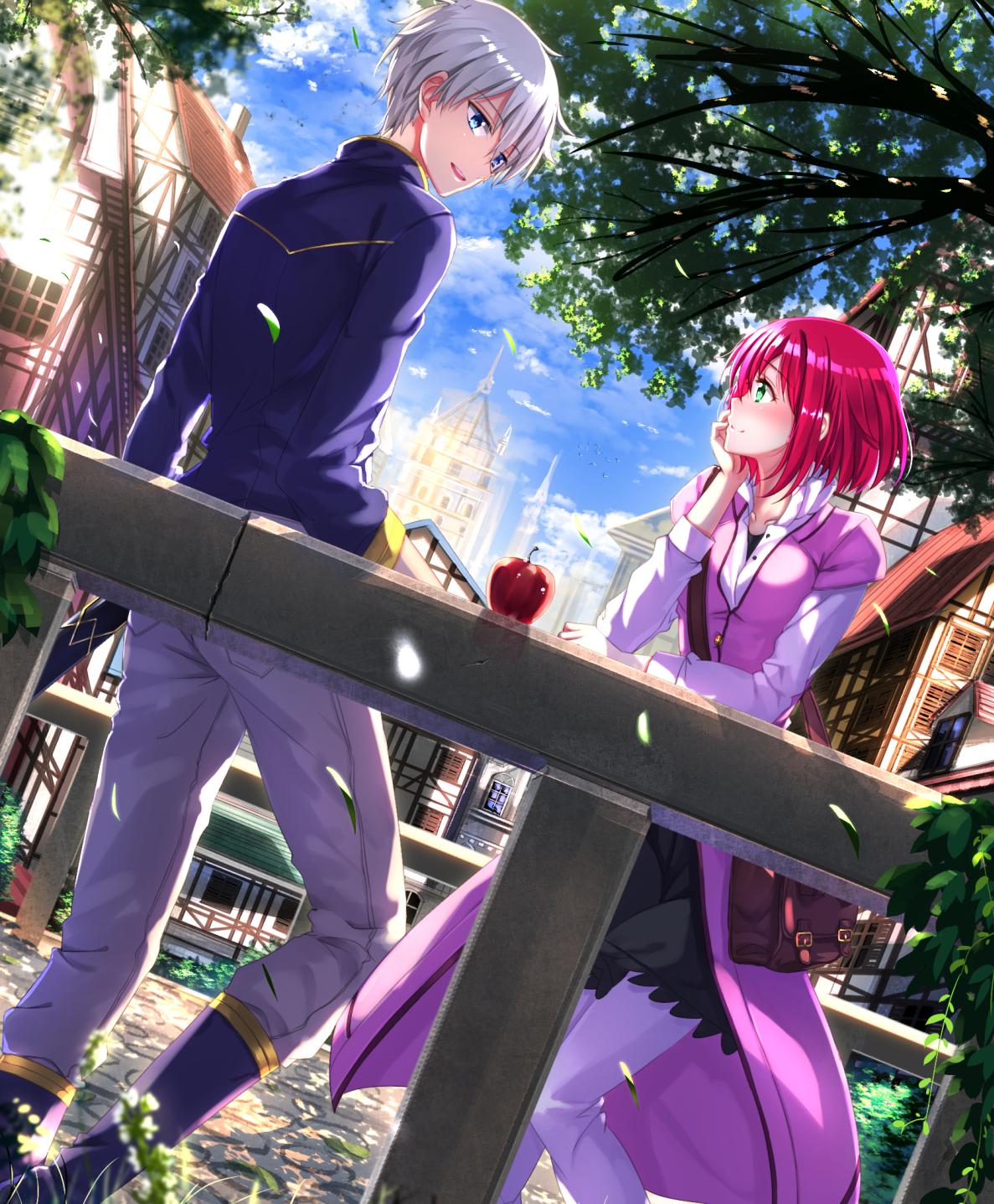 Wallpaper Akagami No Shirayuki Hime 10p Anipitopia Anime