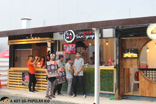 Sam G Samgyeopsal in The Ranch Food Park