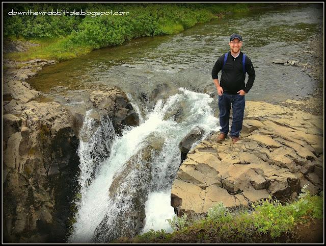 Hundafoss waterfall Skaftafell national park, national park Iceland