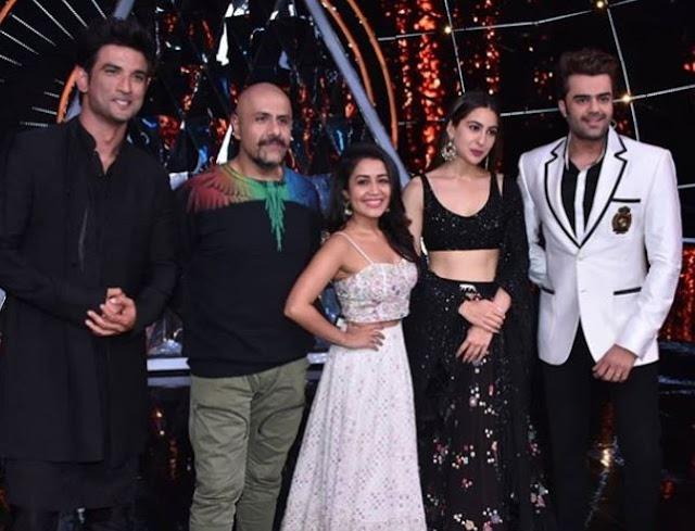 judges with sushant sara