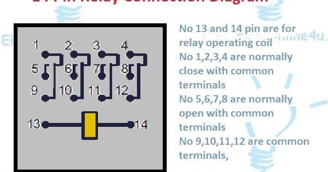 Bpin Brelay Bconnection Bdiagram on Hvac Electrical Wiring Diagrams