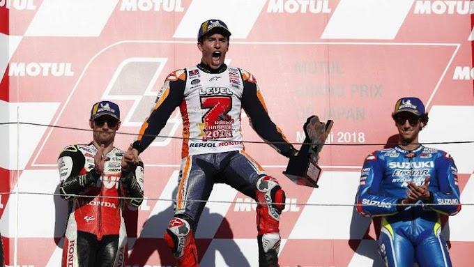 Marc Marquez Resmi Kunci Gelar Juara Dunia MotoGP 2018