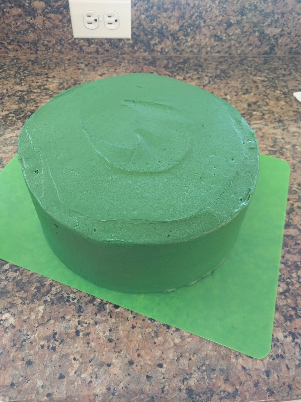 First I Re Learned The Rule That Right Tools Make All Difference Wanted This Cake To Be Three Tiered A Big Impact So Started With