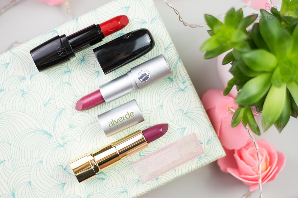 dm neue Beauty-Geheimnisse Unboxing LOV Alverde Astor Lipstick