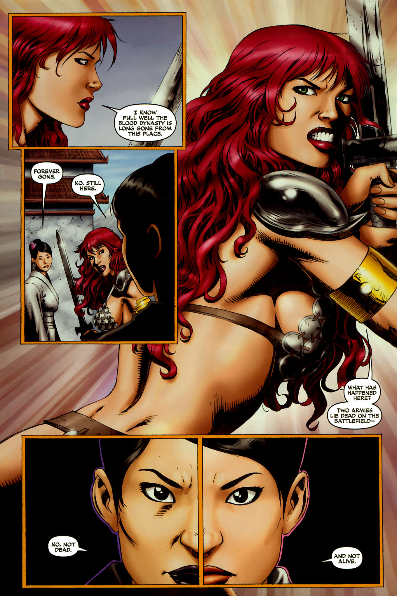 Read online Red Sonja (2005) comic -  Issue #45 - 17