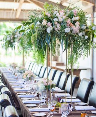 alzate centrotavola matrimonio fiori