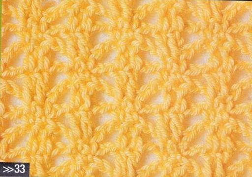 Patrón #1177: Punto Abierto a Crochet