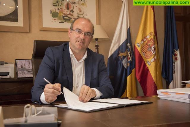 El Cabildo impulsa la creación de empleo a través de una adenda del Fdcan por valor de 2,05 millones de euros