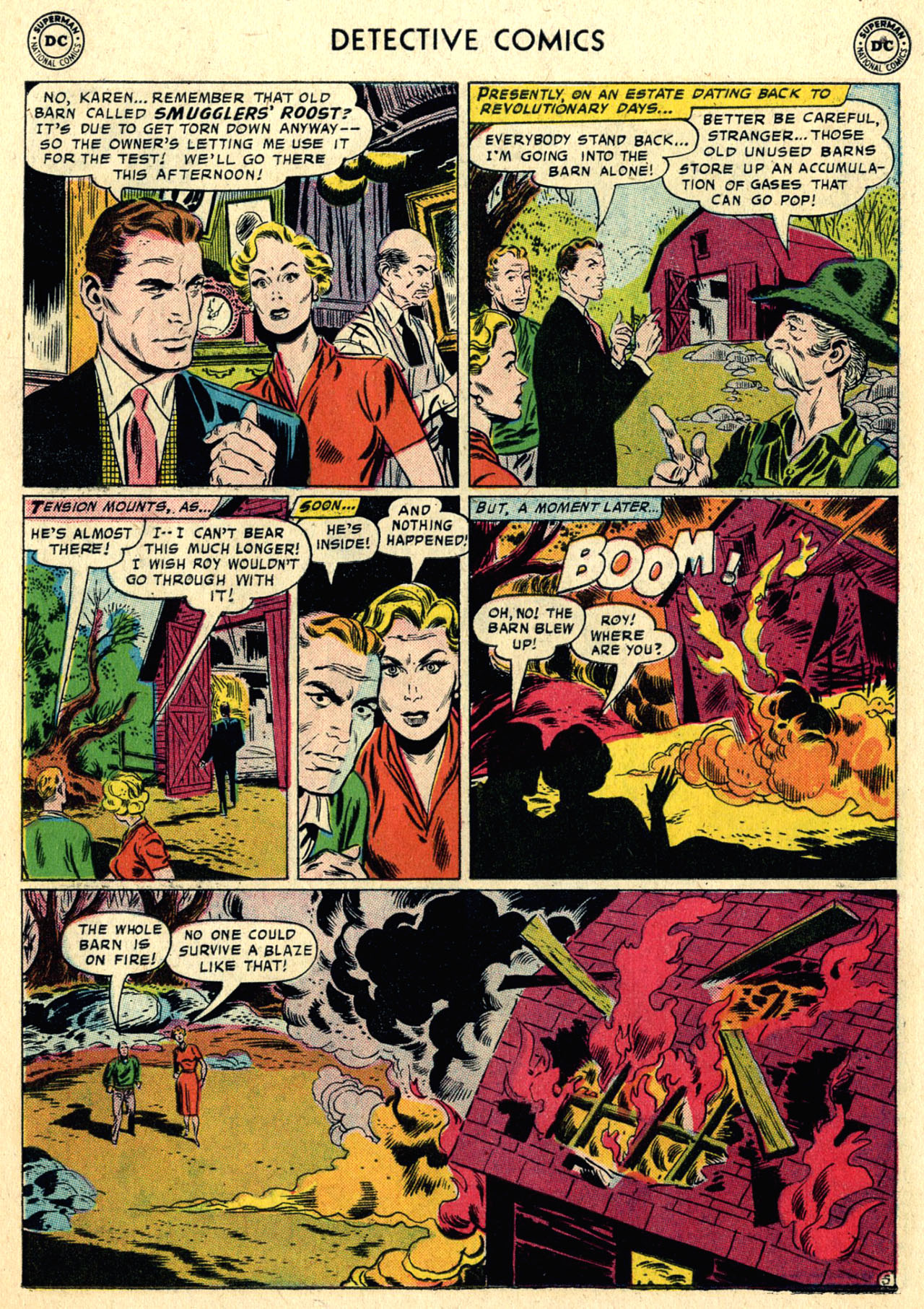 Read online Detective Comics (1937) comic -  Issue #258 - 22