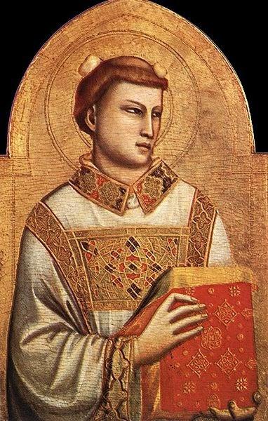 Santo Estevão - Giotto di Bondone e suas pinturas ~ Primeiro a introduzi a perspectiva na pintura