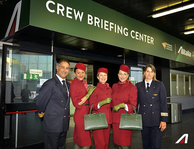 alitalia nuove divise personale di volo