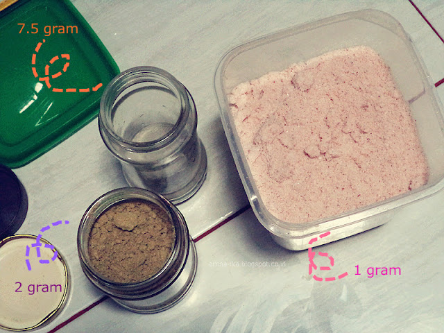 [DIY] Green Lavender Salt Clay Body Scrub