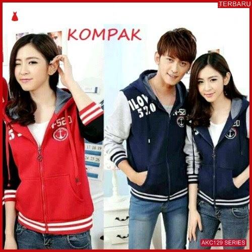 AKC129J52 Jaket Couple Sweater Anak 129J52 Pasangan Pasanagan BMGShop