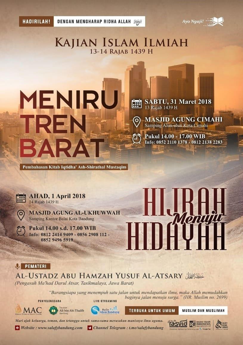 Kajian Islam Ilmiah Masjid Agung Cimahi & Masjid Agung Al-Ukhuwwah Kota Bandung