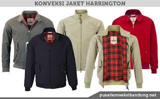 Macam Jenis dan Model Jaket Harrington