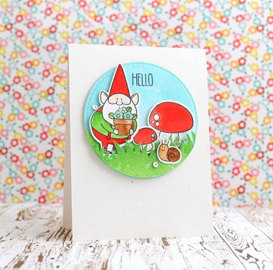 Birdie Brown You Gnome Me Stamp set and Die-namics - Svetlana Pavlova #mftstamps
