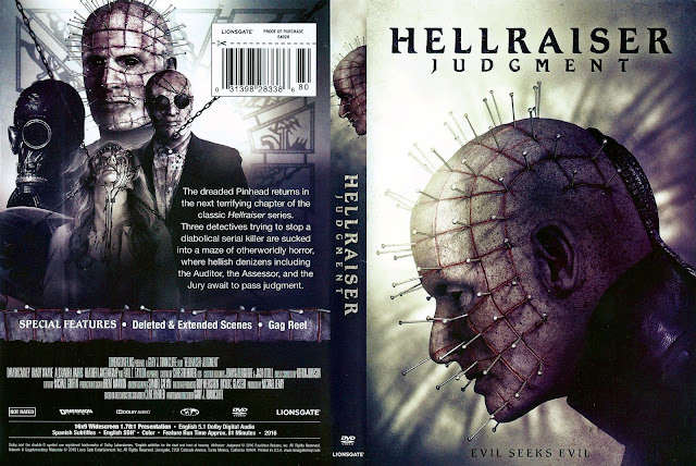 Hellraiser: Judgment DVD Cover