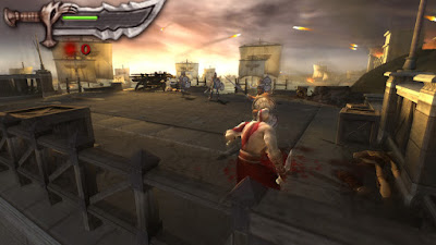 Download God of War Chains of Olympus (USA) Iso Psp Terbaru