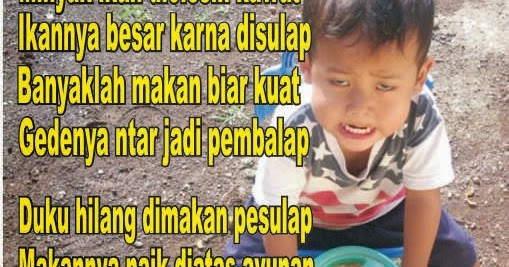 Berbalas Pantun Jenaka Untuk Anak2 ~ Cerita Humor Lucu Kocak Gokil