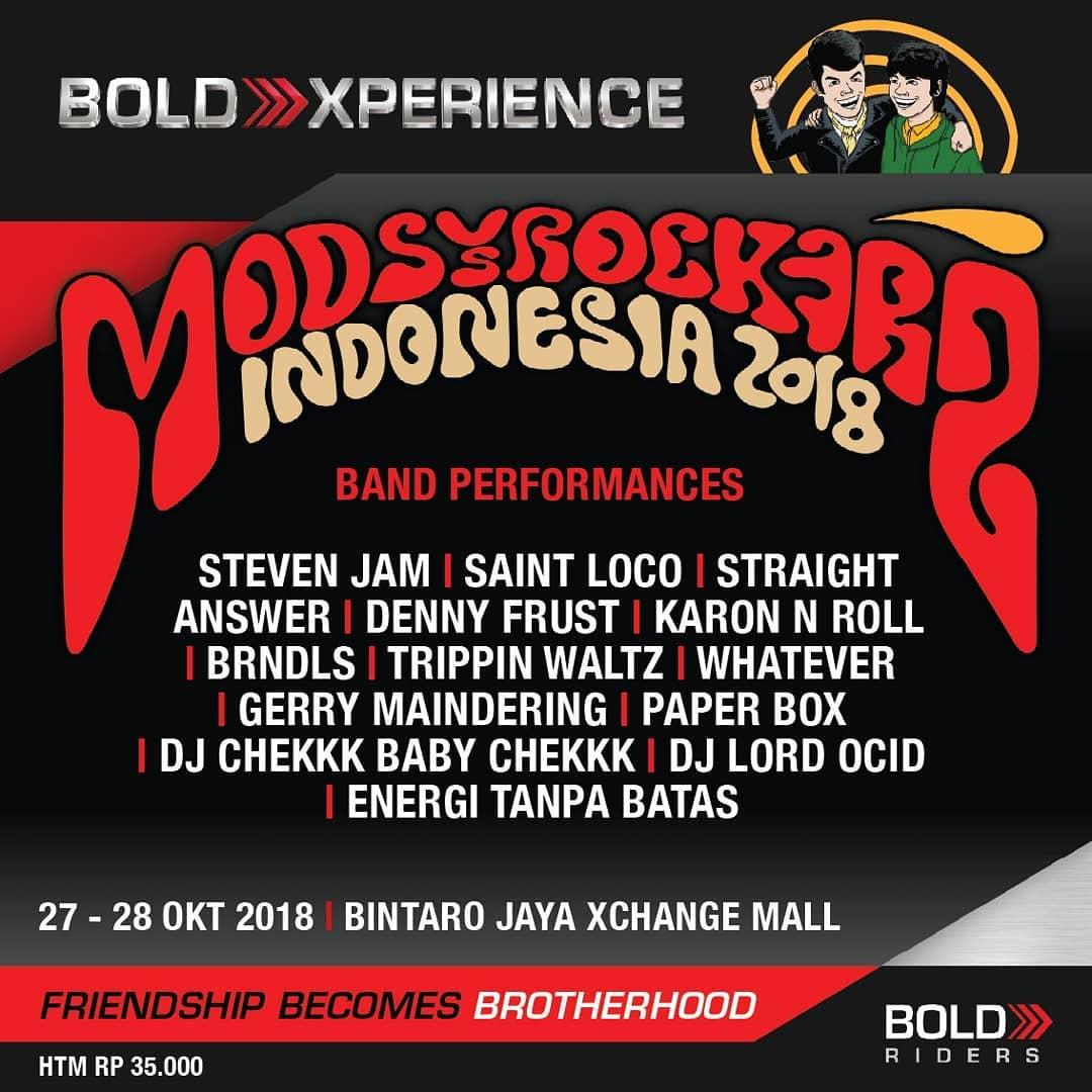 Mods vs Rockers Indonesia 2018 3